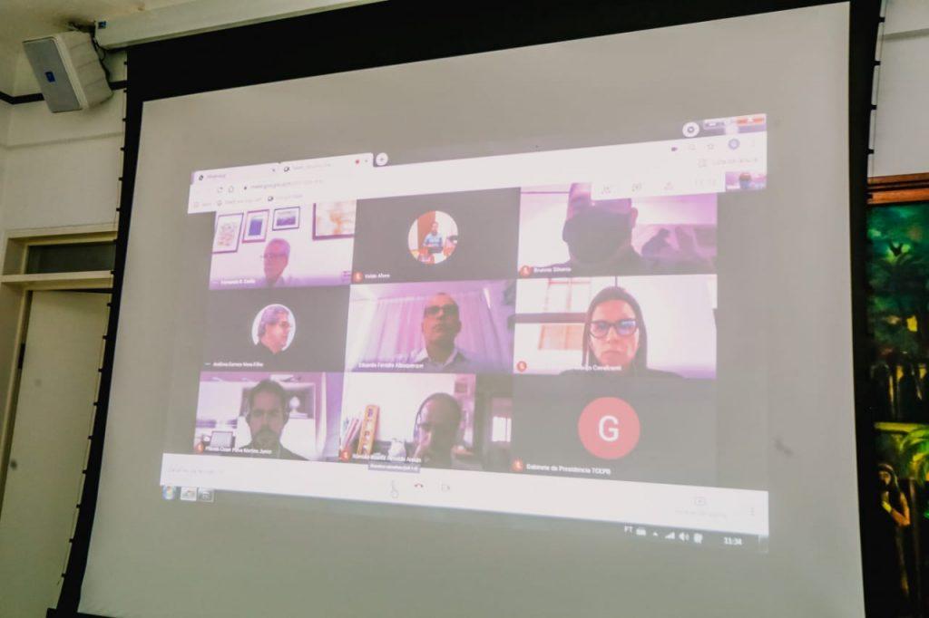 WhatsApp Image 2021 06 10 at 12.47.17 1024x682 - Em reunião de acompanhamento, Prefeitura de João Pessoa e Tribunal de Contas discutem quadro de servidores