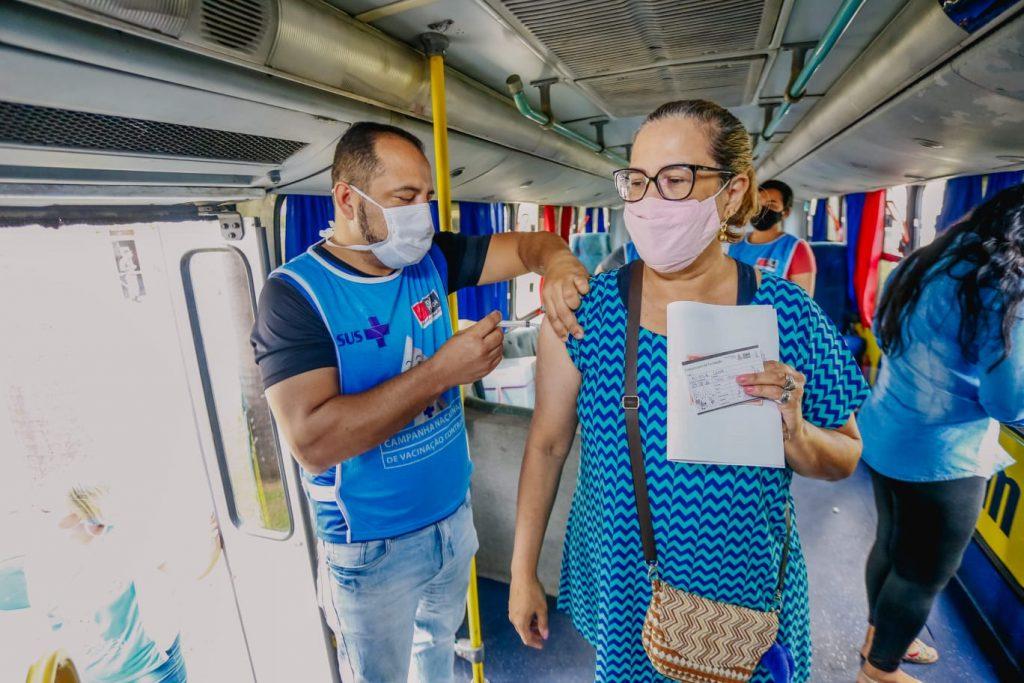 WhatsApp Image 2021 07 13 at 13.39.06 1024x683 - JOÃO PESSOA: Prefeito toma vacina contra a Influenza e convoca população a procurar postos de imunização