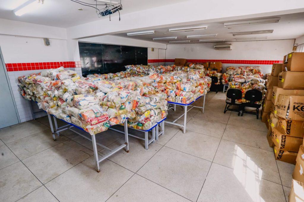 WhatsApp Image 2021 07 15 at 09.06.39 1024x682 - JOÃO PESSOA: Prefeito Cícero Lucena inicia entrega de 75 mil kits alimentares para estudantes da Rede Municipal de Ensino